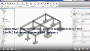 The power of GRAITEC Reinforced Concrete BIM Designers for Revit