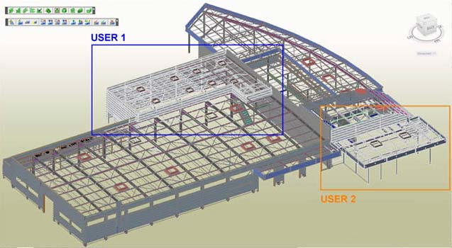 GRAITEC Autodesk Advance Steel | Multi-User Collaboration